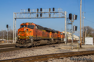 BNSF 7409 | GE ES44DC | BNSF Thayer South Subdivision