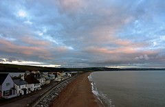 Early morning clouds over Torcross