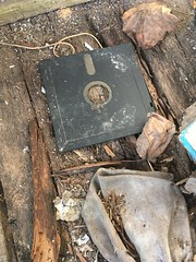 The Way of Technology (arrjryqp6) Tags: oldtech thewayoftechnology found decayed decaying decay disk junk trash floppy technology abandoned lost floppydisk