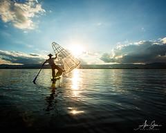 The Mystical Fishermen of Inle (Inle Lake, Myanmar 2013) (Alex Stoen) Tags: 5dmk2 alexstoen alexstoenphotography bagan burma canon canoneos5dmarkii geotagged myanmar natgeo nationalgeographicexpeditions portrait travel vacation