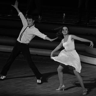 Marie Denigot et Lenny Kim dans danse avec les stars au zénith de Strasbourg