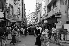 Colombo Street View (YY) Tags: srilanka colombo street city urban bw blackandwhite