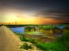 Roadside waters 8 (mrbillt6) Tags: landscape rural prairie road waters pond grass sky outdoors country countryside northdakota