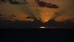 One More Day (Ennev) Tags: pentax pentaxk3ii caribbean cloud clouds cruise ocean orange sea smcpentaxda18135mmf3556edalifdcwr sunset