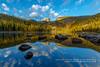 Bear Lake Reflection (rkpunnamraju) Tags: storm clouds skyline greatphotomoments explore outdoor reflection falls mountains lake bearlake colorado park rmnp nps rockymountainnationalpark landscape
