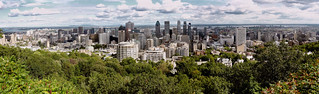 Montreal From Mt Royal