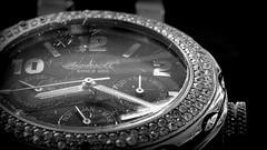 scratches (karinrogmann) Tags: macromondays march12th imperfection scratches glass watch kratzer glas uhr