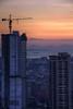 Overlooking Manila Bay (arbivi) Tags: sunset dusk manila bay philippines cityscape urbanscape building skyscraper crane ship sea ocean canon 60d dslr tamron hdr arbivi raymondviloria