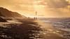 The beach after the storm (Drummerdelight) Tags: beach seaside dehaan dunes sunset intothesun sunlight