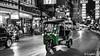 The Green Tuk Tuk (Lцdо\/іс) Tags: green tuktuk bangkok thailande thailand thailandia street blackandwhite road city citytrip travel trip voyage lцdоіс taxi thai night