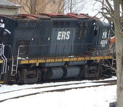 New Brunswick East Coast (SFEX) C424 4204 (1965 MLW C424 ex-CP) (R36 Coach) Tags: c424 alco mlw 1965