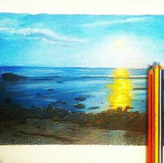 Mirando al horizonte (herneysartista) Tags: playa atardecer amanecer alba crepúsculo mar paisajemarítimo paisaje paisajes frentealmar frentealaplaya elmar romance arena salidadesol puestadesol sol amor cartagena barranquilla curazao cuba lahabana cancún montañitas esmeraldas viñadelmar saopaulo riodejaneiro lasbahamas bahamas hawai honolulu hongkong japan jamundi japón china pance santamarta elrodadero panamá malvinas dibujo discoverychannel dibujosenventa dibujoalápiz dibujantes dibujoconcolores clasesdedibujo dibujoloquesea drawing draw clasesdearte art artacademy artista soyartista arte artworld shanghaiart shanghai santiagodechile sun usa estadosunidos méxico colombia bogotá medellín cálico valledelcauca armenia cartago quindío