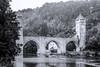 Pont Valentré - Cahors (daniel5451) Tags: nb noiretblanc monochrome pont valentré cahors