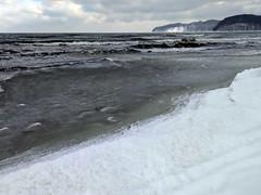 Eis auf der Ostsee (lt_paris) Tags: urlaubinbinz2018 binz rügen strand sandstrand schneestrand ostsee meer winter schnee eis