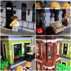 Cavity Corner - Details (Oscar Cederwall (o0ger)) Tags: lego moc modular building corner
