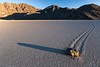 Racetrack (lavignassey) Tags: usa california deathvalley racetrack sunset stone rock
