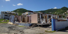 Hurricane damage to buildings (Andy Coe) Tags: cruise ship thomson marella discovery caribbean british virgin islands hurricane destruction devastation damage property houses homes roads cars boats