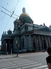St Isaac à St Petersbourg (Matrok) Tags: saintpetersbourg stpetersbourg stpetersburg sanktpeterburg russie architectureclassique
