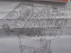 """Adam's portable model-making tool chest (brucesflickr) Tags: """"adam savage"""" """"savage maker box"""" """"quarterly co"""" tools """"model making"""" cardboard """"special fx"""" drawing crafts"""