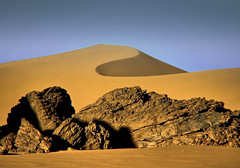 rocks and sand (robertoburchi1) Tags: landscape sahara desert colours