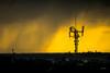 DSC_8667 (dariofal) Tags: nikon nikond810 nikonistas nikonians cielo sky redsky horizonte antenas antena antenna nubes nubesnegras montevideo uruguay clouds