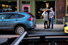 Rachel & Dave (27) (Brian Isemann) Tags: the creamery baltimore hampden fuji xt2 xt20 engagement