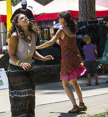 Trance (yowser85) Tags: festivals girl woman dancing braless