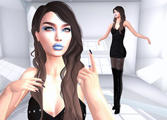 LuceMia - The Darkness Monthly Event (2018 SAFAS AWARD WINNER - Favorite Blogger - MISS ) Tags: thedarknessmonthlyevent secondlive sl new blog event fashion mesh creation colors makeup giuliadesign liquid posesion poses hellodave nails appliers agnese models beauty lucemia