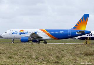 Allegiant A320-200 N261NV (Ex HZ-AS14)