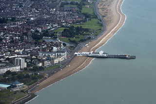 Southsea South Parade Pier - Portsmouth aerial