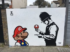 Penge (looper23) Tags: penge east mural london 2018 march trusticon street artist southlondon streetart super mario policeman police