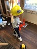 c2018 March 2, Ava Grace @Childrens Museum of the Shoals (King Kong 911) Tags: childrens museum avagrace grocerycart books cathat drseuss constuction viking hats magnifyglass butterflies barn toys playing music children