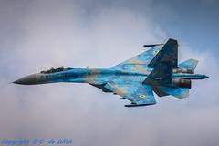 Su-27 P(m1)-0664 (Olav de With Aviation photography) Tags: radom2017 sukhoi power ukraine air force airshow sigmapower sigmalens sigma150600sports nikon d7200 fighterjet military avia avion sky bleu sigma 150600 f563 dg os hsm sports