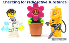 Checking for radioactive substance (WhiteFang (Eurobricks)) Tags: lego collectable minifigures series city town space castle medieval ancient god myth minifig distribution ninja history cmfs sports hobby medical animal pet occupation costume pirates maiden batman licensed dance disco service food hospital child children knights battle farm hero paris sparta historic brick kingdom party birthday fantasy dragon fabuland circus