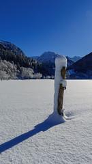 winteruniform (Urs Walesch) Tags: winter uniform snow sun sunshine allgäu mountains stake