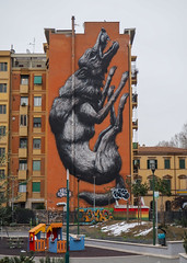P2280926 (rob dunalewicz) Tags: 2018 italy rome roma streetart mural roa