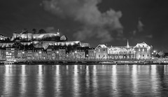 Beautiful Night - 4702 (YᗩSᗰIᘉᗴ HᗴᘉS +15 000 000 thx) Tags: blackandwhite bw monochrome river meuse night brilliant hensyasmine namur belgium europa aaa namuroise proxi belga look photo friends be saariysqualitypictures wow yasminehensinterest intersting eu fr greatphotographers lanamuroise 7dwf