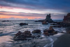 Playa de Rocas (domimb_) Tags: paisajes nuboso cabodegata paisaje amanecer nubes calacarbon calacarbón rocas canon700d parquenatural canon amancer landscape calachicre