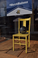 March Madness (slammerking) Tags: chair basketball ncaa wichitakansas