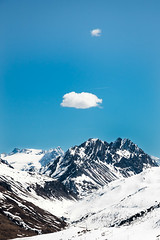 Mountain and Clouds, 2018 (ElleFlorio) Tags: livigno lucaflorio alps clouds italy mountain sky snow