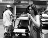 Not Smiling (Beegee49) Tags: street woman man filipina pedicab bacolod city philippines