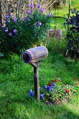 Mailbox (YY) Tags: mailbox newzealand lordoftherings hobit hobbiton shire matamata