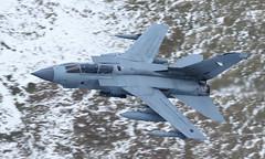 Tornado (Treflyn) Tags: raf panavia tornado gr4 snowy bwlch mach loop lfa7 low flying north wales za588 056 royal air force