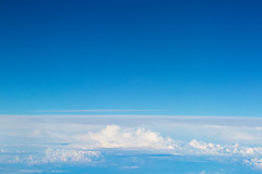 Blue Sky above the Cloud. (baddoguy) Tags: above aerial view atmosphere backgrounds beauty in nature blue clear sky cloud cloudscape color image copy space day empty flying freshness heaven high angle horizontal idyllic meditating no people norway oslo photography sea summer tranquility wallpaper decor wide wind