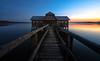 Bootshaus am Ammersee (https://500px.com/klaussteinert72) Tags: bootshaus ammersee bayern sonnenuntergang steg boathouse bavaria sunset