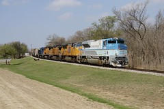 UP 4141 - Fort Worth TX (KB5WK) Tags: unionpacific up4141 uprr