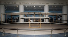 Wright Flyer 1903 replica in Chicago (J.Comstedt) Tags: science museum industry aircraft aviation aeroplane chicago il usa us wright flyer 1903 replica n203wf air johnny comstedt