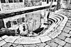 steps (Francis Mansell) Tags: monochrome step marble water reflection canal blackwhite masonry camposanzandegola venezia venice building architecture filmgrain niksilverefexpro2