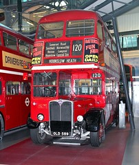 """OLD 589, AEC """"RT"""" RT 4825, London Transport Museum, Covent Garden, 10th. March 2018. (Crewcastrian) Tags: london buses londontransport transport publictransport londontransportmuseum coventgarden aec rt parkroyal preservation old589 rt4825"""