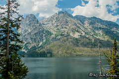 Jenny Lake | Grand Teton National Park | Wyoming (M.J. Scanlon) Tags: canon capture digital eos grandtetons landscape mjscanlon mjscanlonphotography mojo mountain outdoor outdoors photo photograph photographer photography picture scanlon sky super tetons tree west wildwest wow wyoming ©mjscanlon ©mjscanlonphotography grandtetonnationalpark jennylake lake water beautiful scenic awesome